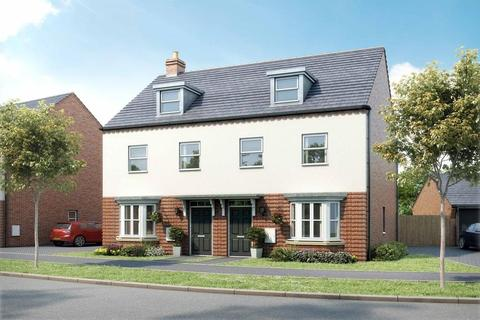 3 bedroom semi-detached house for sale - Plot 9, Kennett at Canal Quarter @ Kingsbrook, Burcott Lane, Aylesbury, AYLESBURY HP22