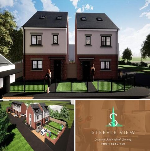 4 bedroom detached house for sale - Steeple View, Boldon