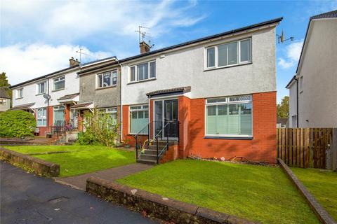 3 bedroom end of terrace house for sale - 61 Cunningham Drive, Giffnock, Glasgow, G46
