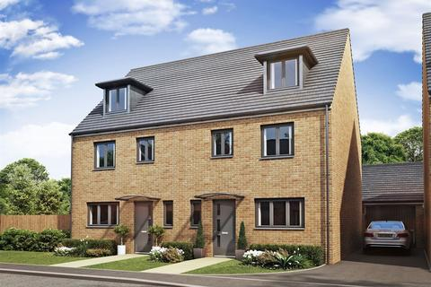4 bedroom terraced house for sale - Plot 288, The Leicester  at Hampton Gardens, Hartland Avenue, London Road PE7