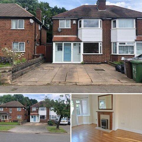 3 bedroom semi-detached house to rent - Newborough Road, Solihull