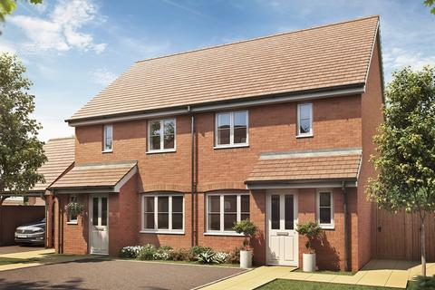 3 bedroom terraced house for sale - Plot 719, The Hanbury at St Edeyrns Village, The Foxborough, Church Road, Old St. Mellons CF3