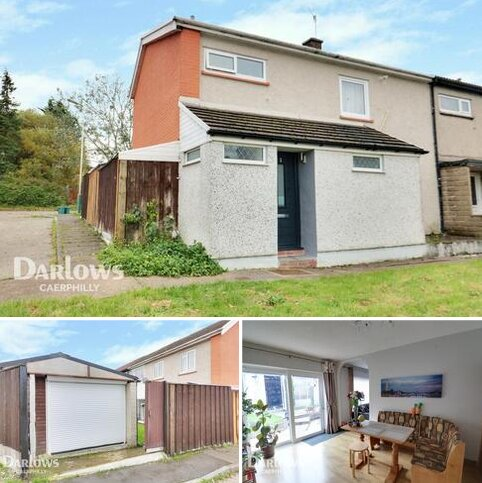 3 bedroom end of terrace house for sale - Buxton Court, Caerphilly