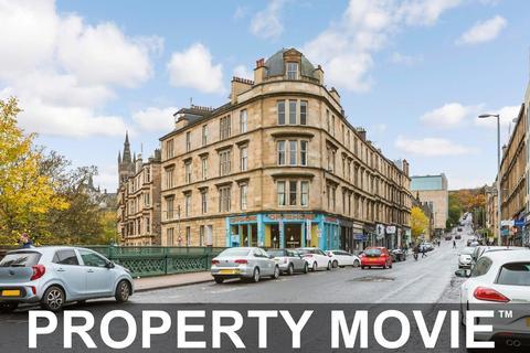3 bedroom ground floor flat for sale - 0/1, 1 Westbank Quadrant, Hillhead, Glasgow, G12 8NT