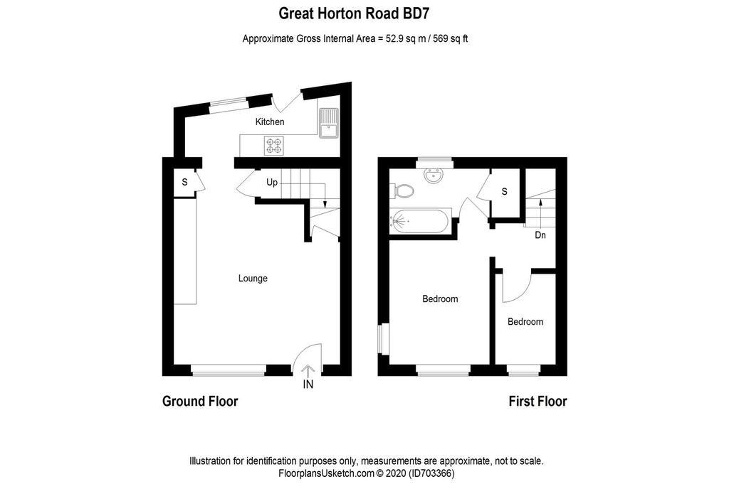Floorplan: Floor plan  great horton road bd7 4 ej .jpg