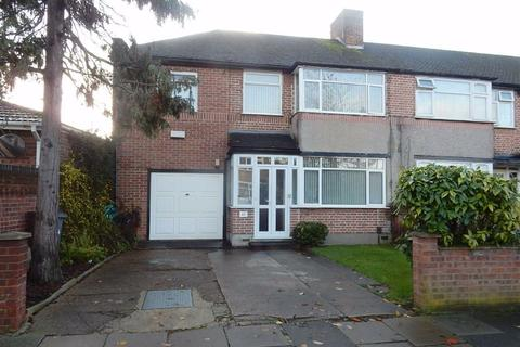 4 bedroom end of terrace house for sale - Clunbury Avenue, Norwood Green, Middlesex