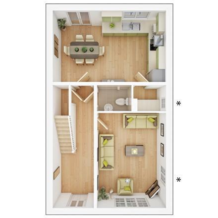 Floorplan 1 of 2: PA42 3 DFP GF Web Image