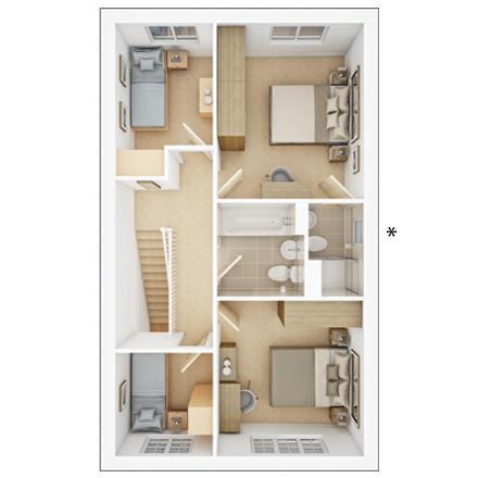 Floorplan 2 of 2: PA42 3 DFP FF Web Image