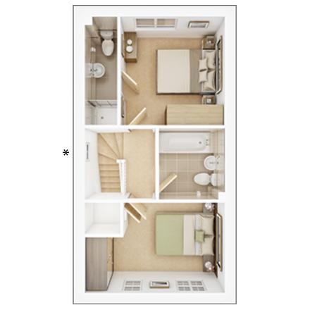 Floorplan 2 of 2: PA25 3 DFP FF Web Image