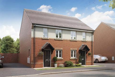 2 bedroom semi-detached house - Plot The Canford - 346, The Canford - Plot 346 at Marston Grange, Marston Grange, Beaconside, Marston Gate ST16