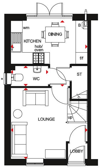 Floorplan 1 of 2: Kenley GF Plan