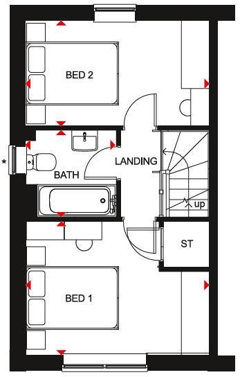 Floorplan 2 of 2: Kenley SF Plan