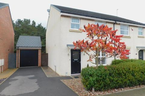 3 bedroom semi-detached house for sale - ABBEY GREEN, SPENNYMOOR, SPENNYMOOR DISTRICT