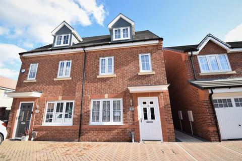 3 bedroom semi-detached house for sale - Field Avenue, Clairville, Middlesbrough, TS4 2US