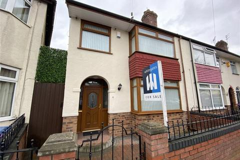 3 bedroom end of terrace house for sale - Glamis Road, Liverpool, L13