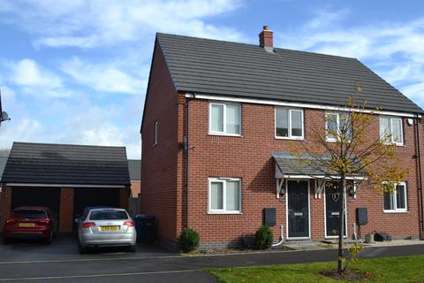 3 bedroom semi-detached house for sale - Priory Avenue, Hawksyard, Rugeley