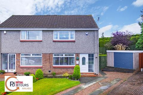 2 bedroom semi-detached house for sale - 14 Tanzieknowe Place, Cambuslang, Glasgow, G72 8RF