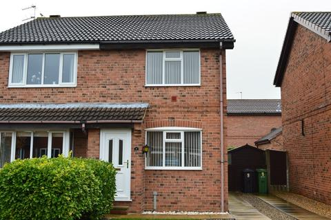 2 bedroom semi-detached house to rent - Angram Close, Rawcliffe, York