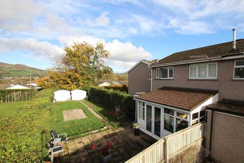2 bedroom end of terrace house for sale - Tan Dderwen, Llangattock, Crickhowell, NP8