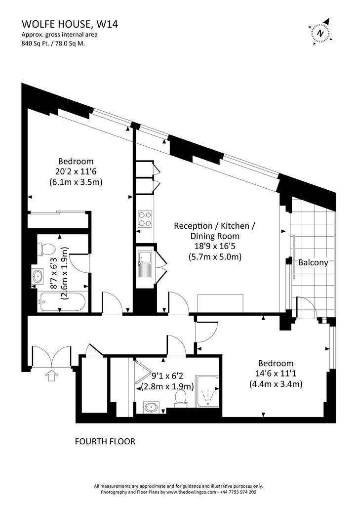 Floorplan: 21 wolfe house, w14