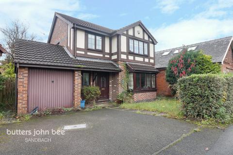 4 bedroom detached house for sale - Vicarage Gardens, Sandbach