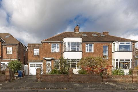4 bedroom semi-detached house for sale - Bemersyde Drive, Jesmond, Newcastle upon Tyne