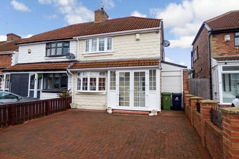 2 bedroom semi-detached house for sale - Mitford Gardens, Lobley Hill, Gateshead, Tyne and wear, NE11 0BA