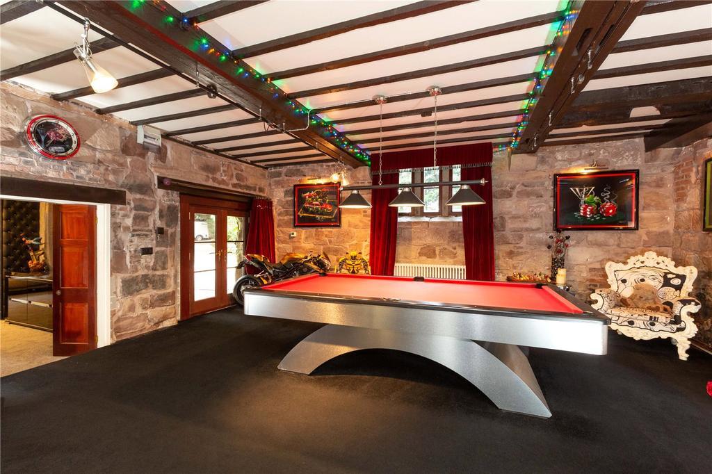 Chorlton Mill's games room