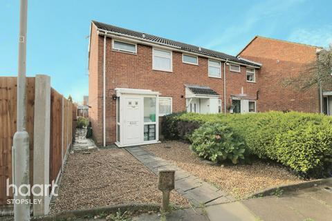 2 bedroom end of terrace house for sale - Telscombe Way, Luton