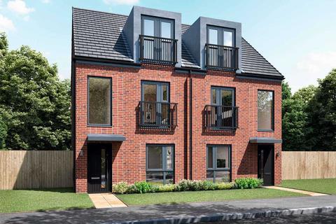 3 bedroom semi-detached house for sale - Plot 18, The Belsay at St Albans Park, Whitehills Drive, Windy Nook NE10