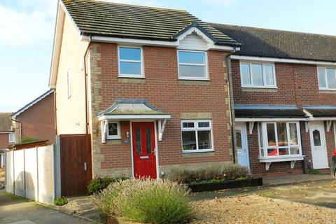 3 bedroom end of terrace house to rent - Chandlers Close, Marston Moretaine