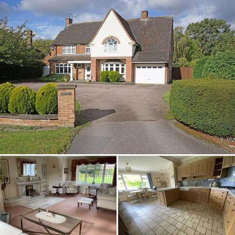 4 bedroom detached house for sale - Links Road, Kirby Muxloe, Leicestershire