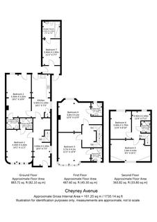 6 bedroom semi-detached house for sale - Cheyneys Avenue, Edgware, HA8