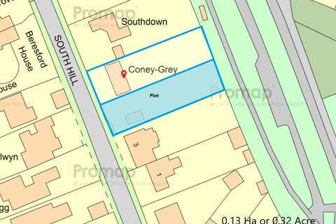 Plot for sale - South Hill, Rolleston on Dove