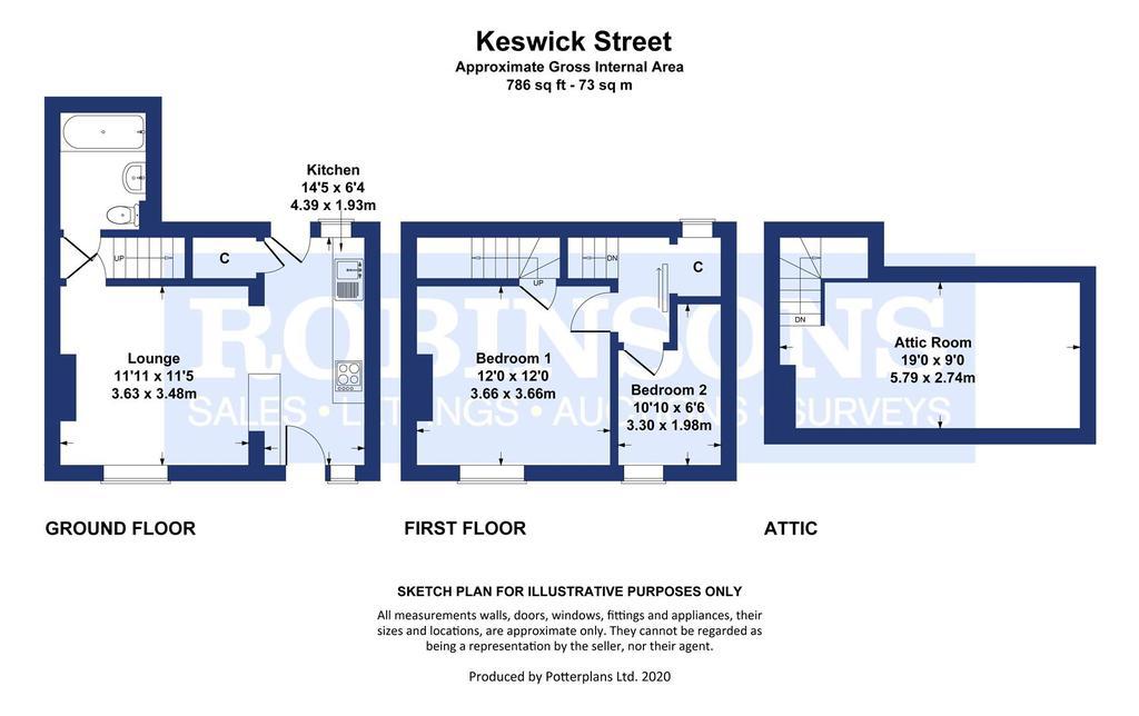 Floorplan: Keswick Street