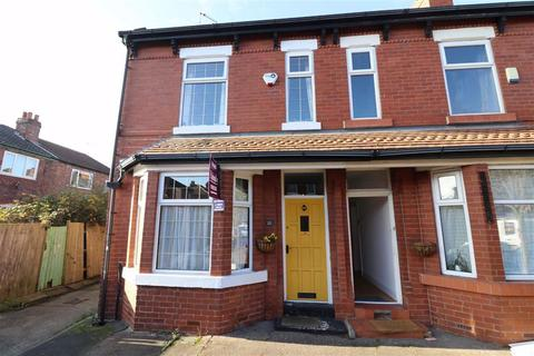 3 bedroom end of terrace house for sale - Granville Avenue, Whalley Range, Manchester, M16