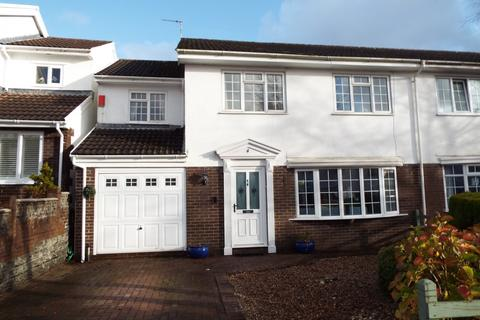 4 bedroom semi-detached house for sale - Llwynderw, Three Crosses, Swansea