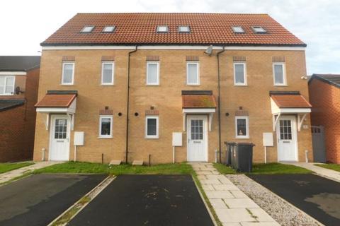 3 bedroom townhouse for sale - OXFORD CLOSE, PETERLEE, PETERLEE