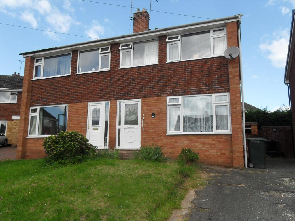 3 Bedrooms Semi Detached House for sale in Cantreyn Drive, Bridgnorth, Shropshire