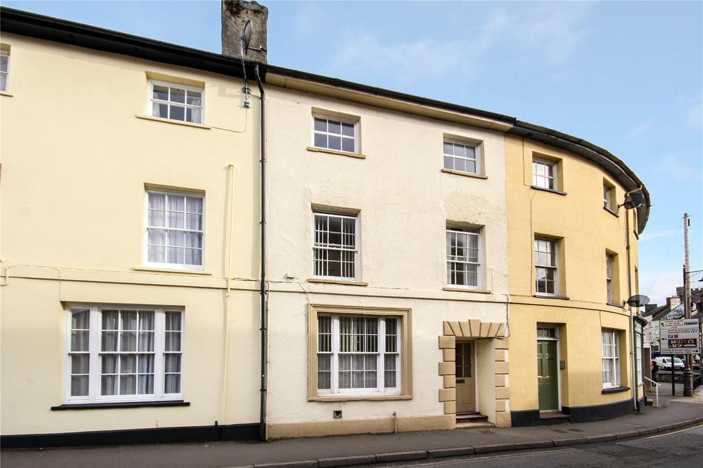 3 Bedrooms Terraced House for sale in Watergate, Brecon, Powys