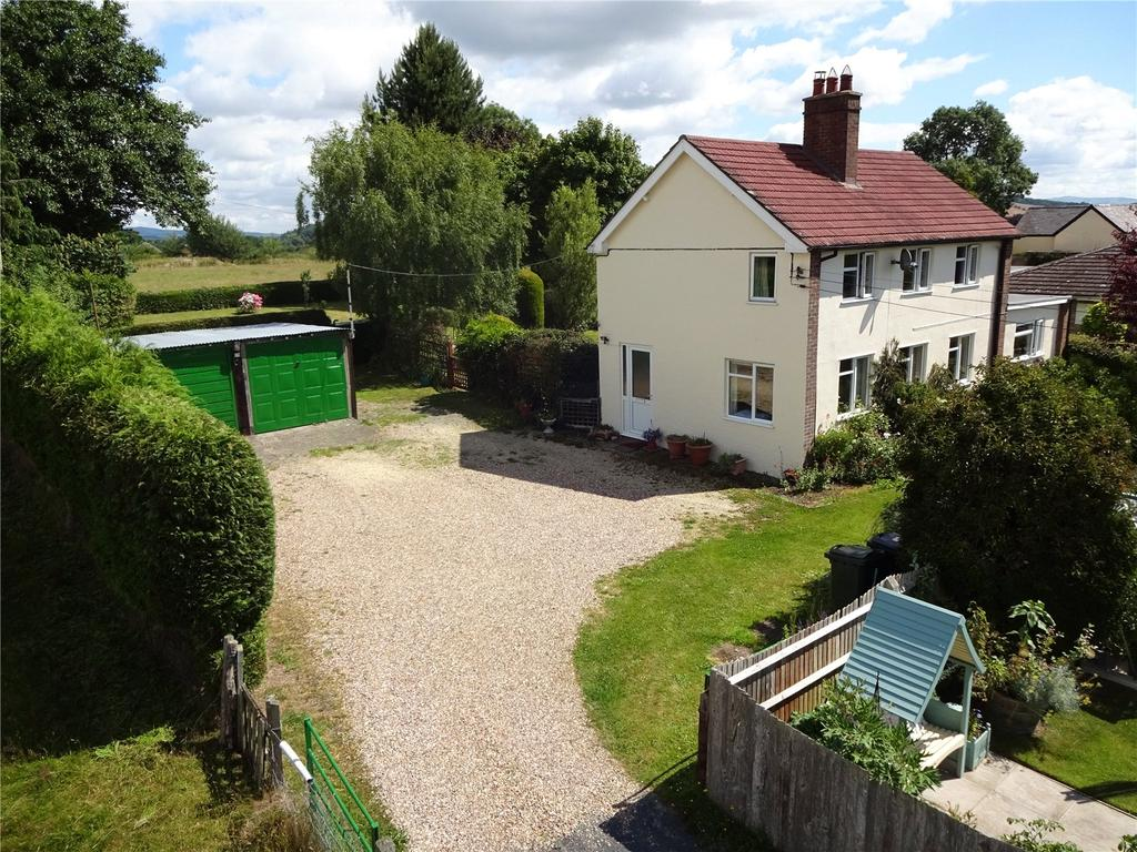 3 Bedrooms Detached House for sale in Clun Road, Craven Arms, Shropshire