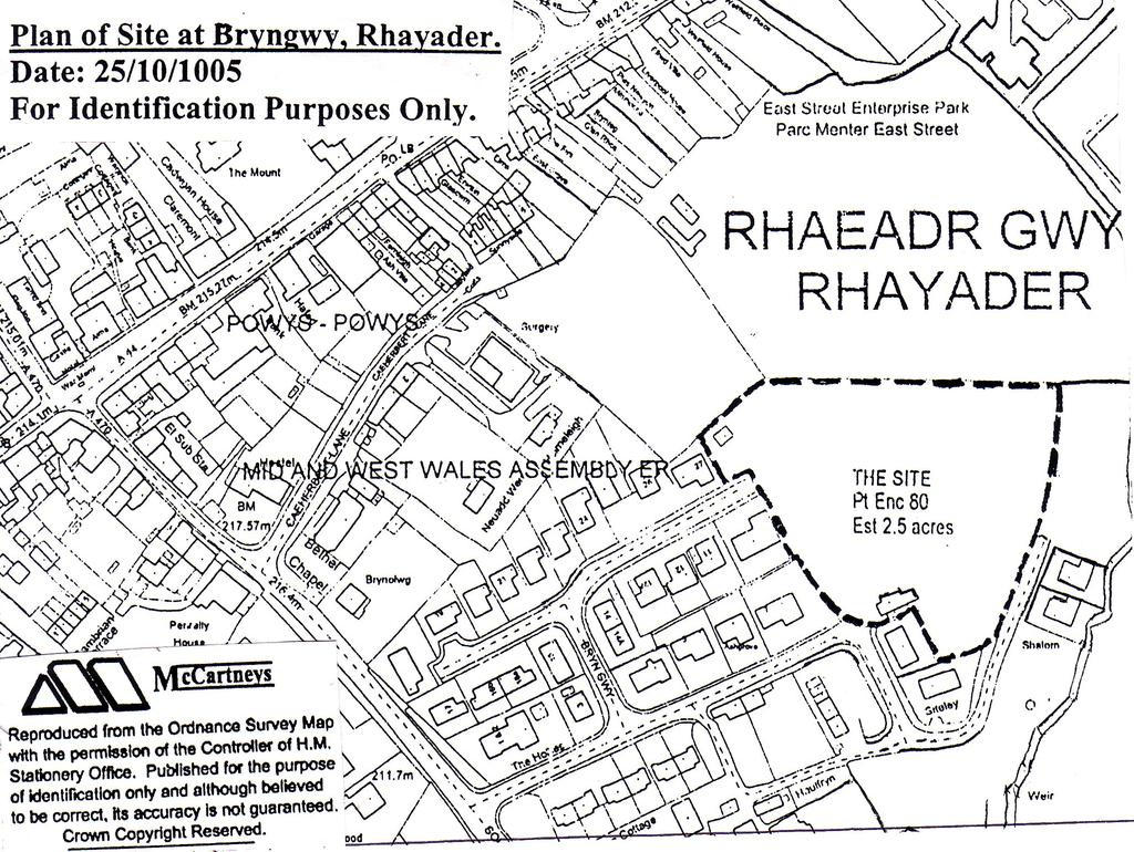 Plot Commercial for sale in Rhayader, Powys