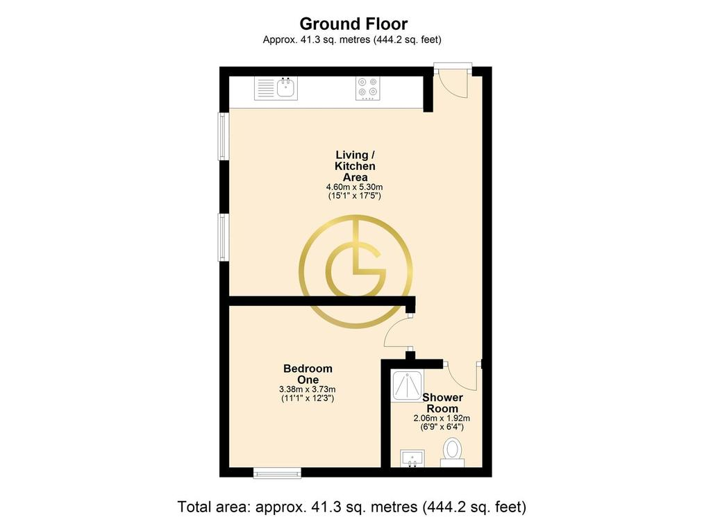 Floorplan 1 of 2: 2 D Floor Plan