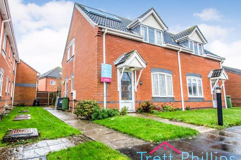 2 bedroom semi-detached house to rent - Dunkerley Court, Norwich