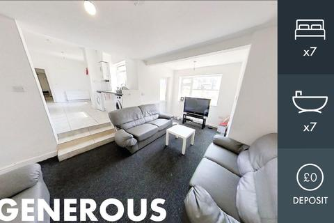 7 bedroom end of terrace house to rent - Welford Road, Leicester