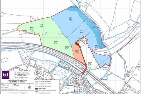 Land for sale - Lot 3 - 16.94 acres of land at Mount Pleasant Farm, Cowbridge