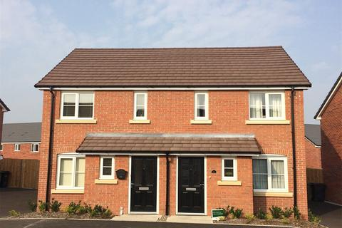 2 bedroom terraced house for sale - Plot 288, The Alnwick at Corelli, Sheeplands Lane, Marston Road DT9