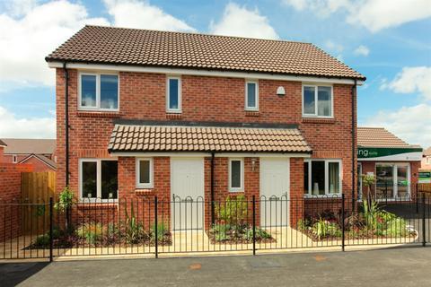 3 bedroom semi-detached house - Plot 282, The Hanbury  at Corelli, Sheeplands Lane, Marston Road DT9