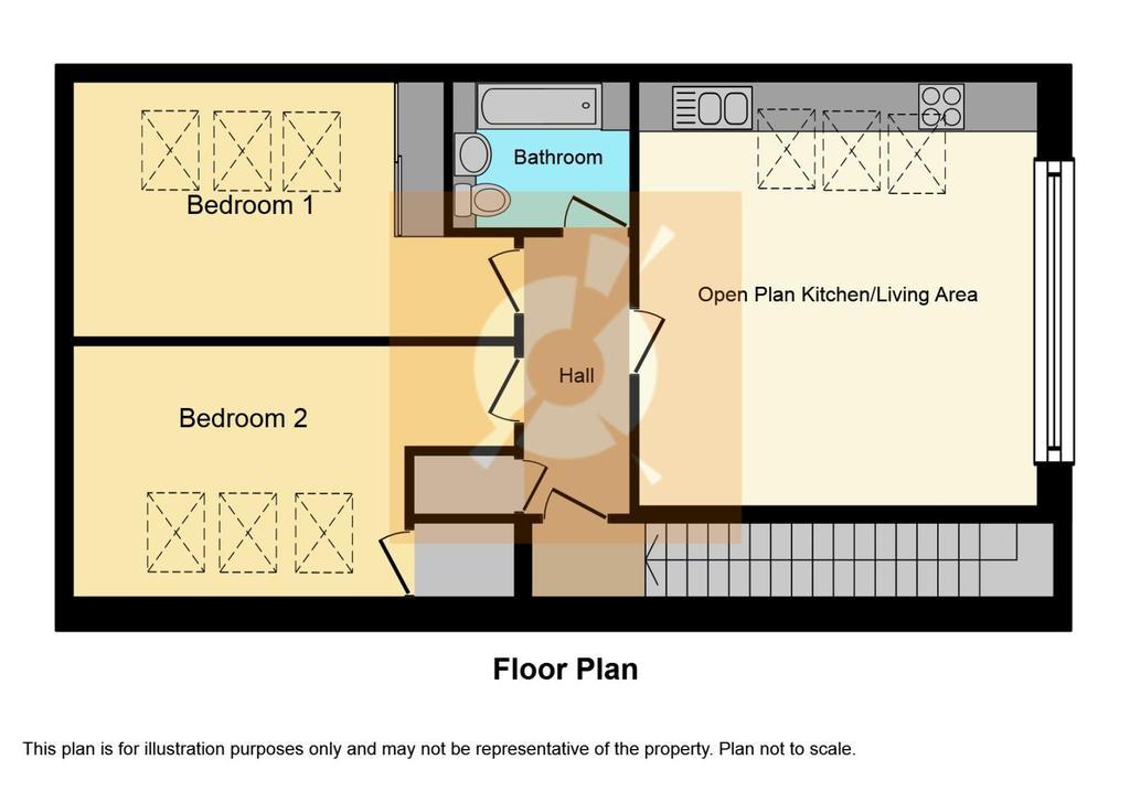 Apartment 2 Top Floor FP