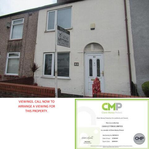 2 bedroom terraced house to rent - Warrington Road, Leigh WN7